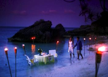 luxury island honeymoon holiday in Bermuda